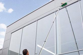 Osmose-Reinigung-Fenster